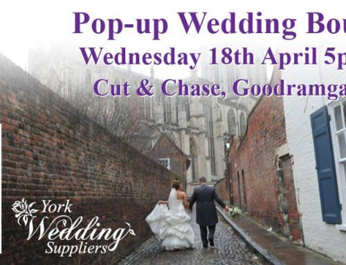 Cut & Chase Pop-Up Wedding Boutique